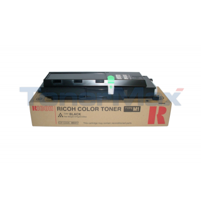 RICOH AFICIO 1224C/1232C TYPE M1 TONER BLACK